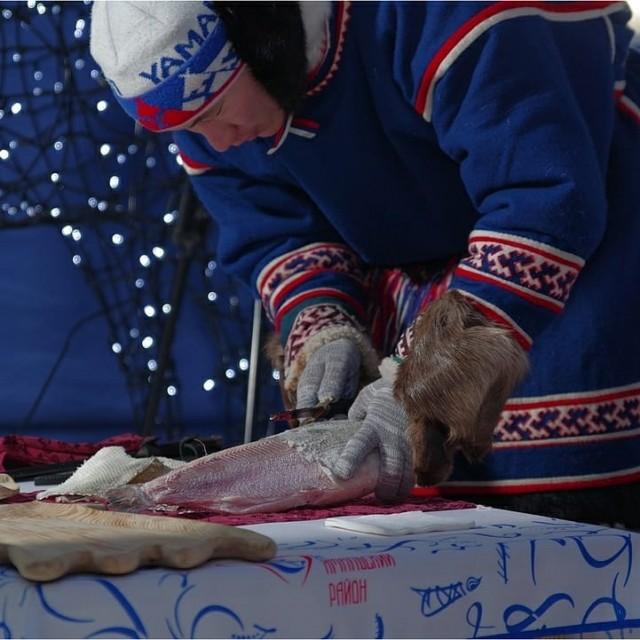 Сыроедение на Ямале: Сырое мясо и рыба во льду