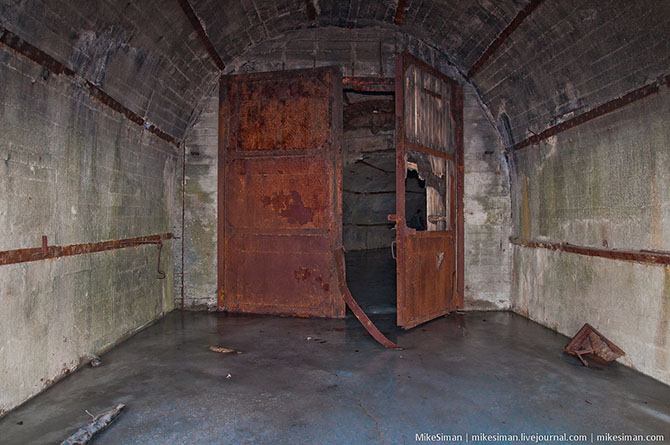 Creepy Shelter Waiting for a Nuclear Threat