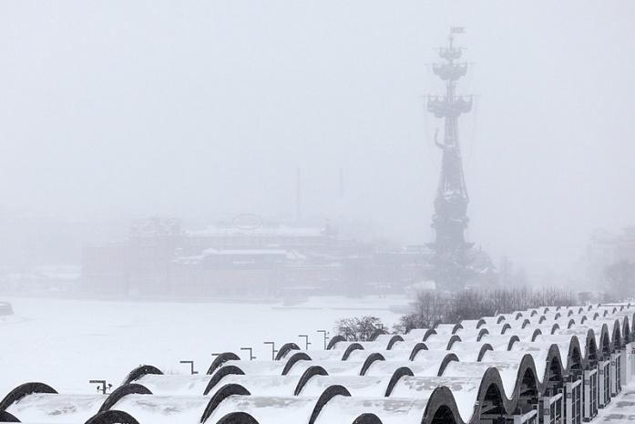 снегопад, москва, последствия