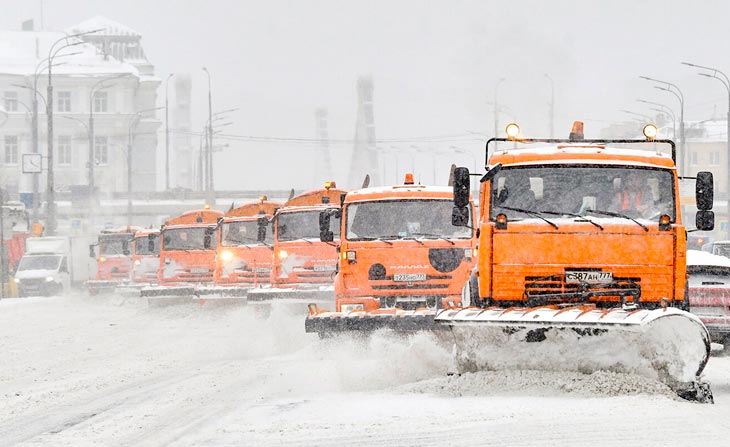 Snowpocalypse in Moscow