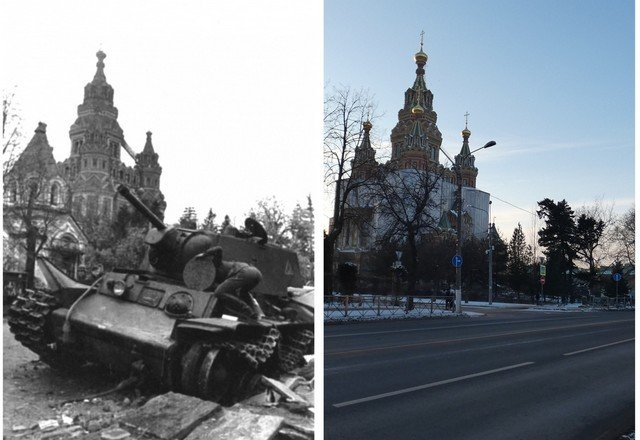 Saint Petersburg: Then and Now
