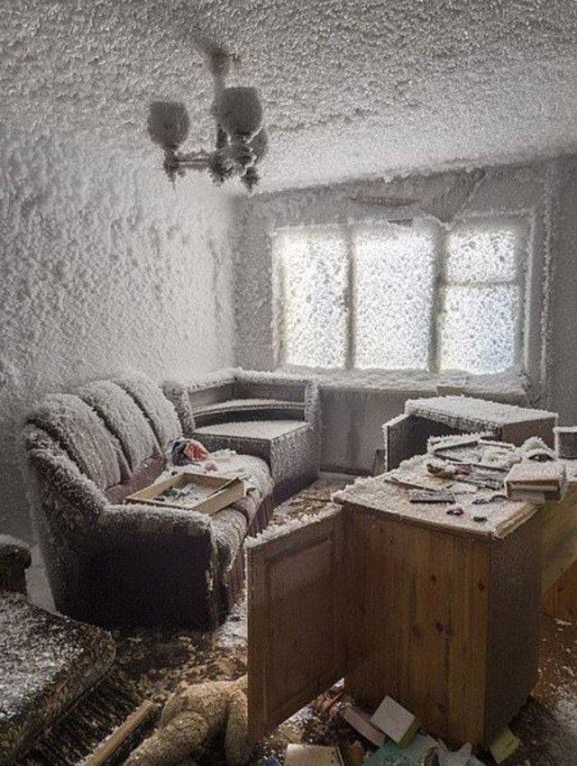 В Британии обсуждают кадры полузаброшенного поселка Цементнозаводский в окрестностях Воркуты