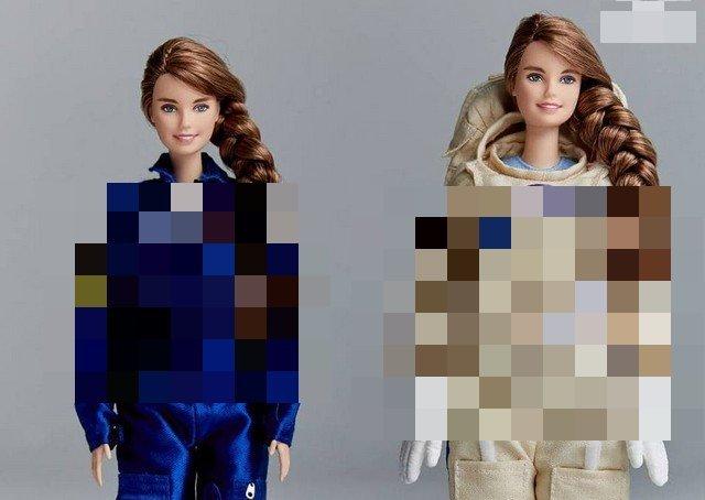 Russian Cosmonaut Anna Kikina Becomes a Barbie Doll