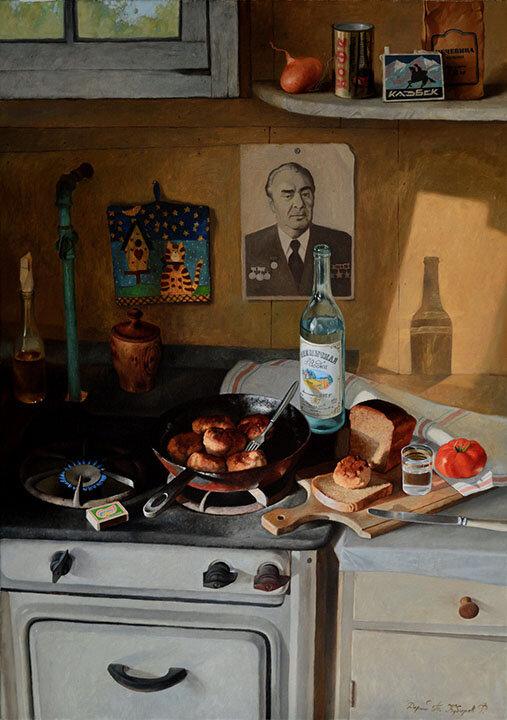 Cozy Past Depicted By Philipp Kubarev