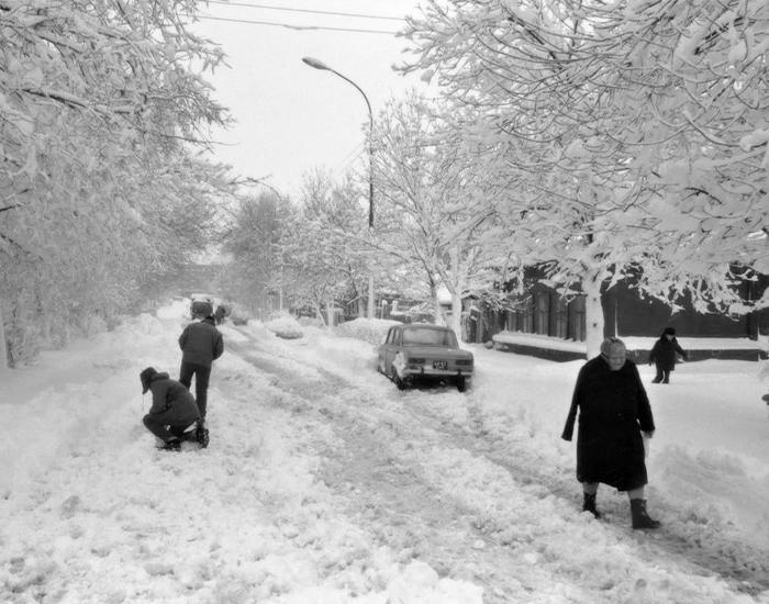 Снегопад в Свердловске. Фото взято из открытых источников: fishki.net