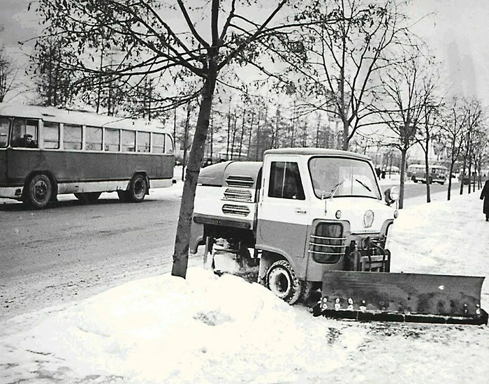 Редкая машина ТУМ-975, выпускавшаяся с 1963 до 1984 года. Фото взято из открытых источников: pikabu.ru
