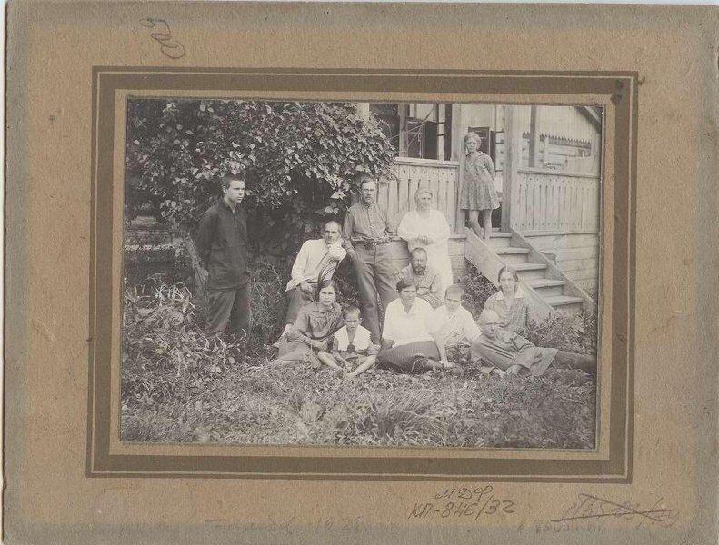 На даче Павел Трошкин, 1928 год, МАММ/МДФ.