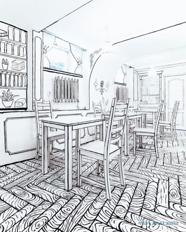 Фото РЕАЛЬНОГО кафе в Питере