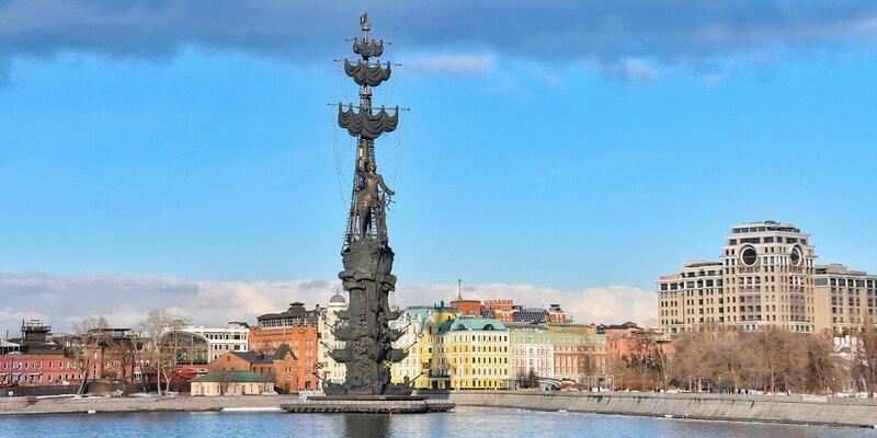 98 метров над Москвой: памятник Петру I изнутри