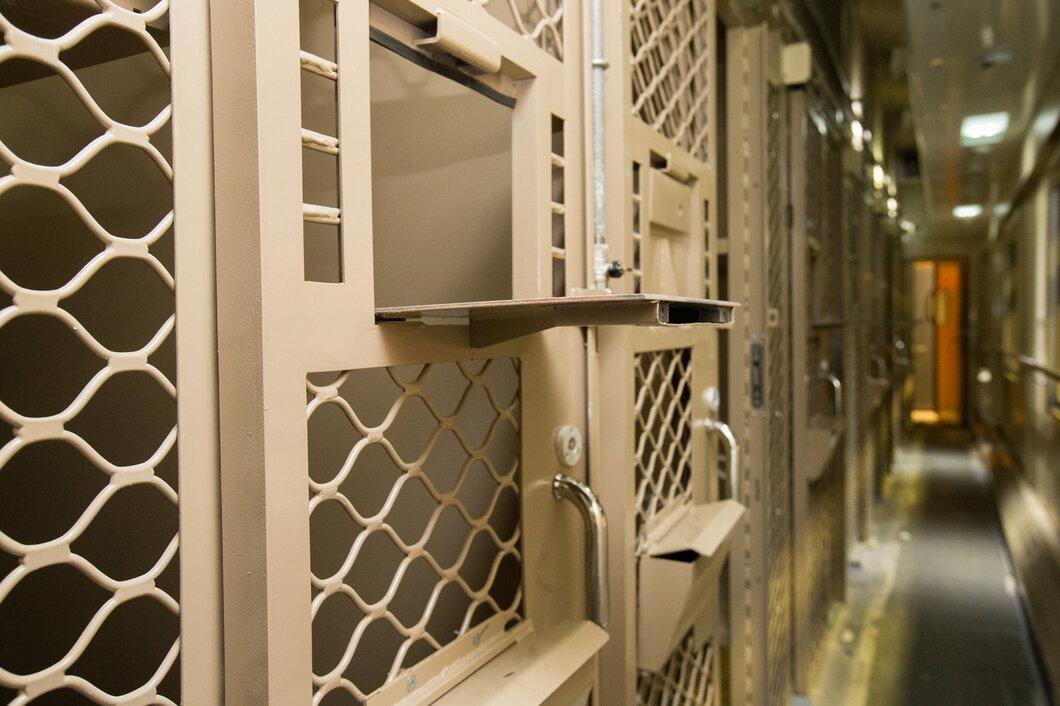 Какой внутри вагон для перевозки заключённых.