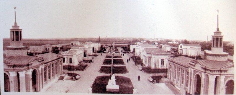 Историческая фотография Рязанского ВДНХ. Взято из интернета.