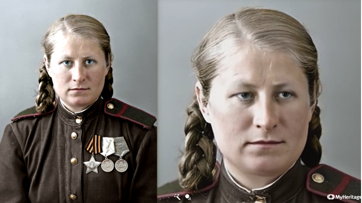 Soviet Heroes of the War Brought Back to Life