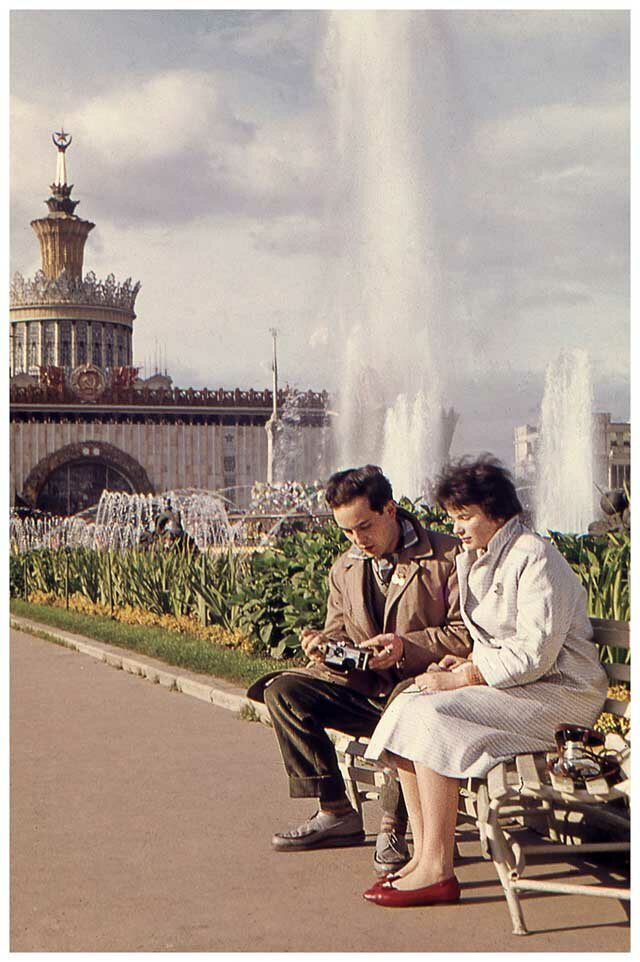 Flourishing Moscow of the 1950s