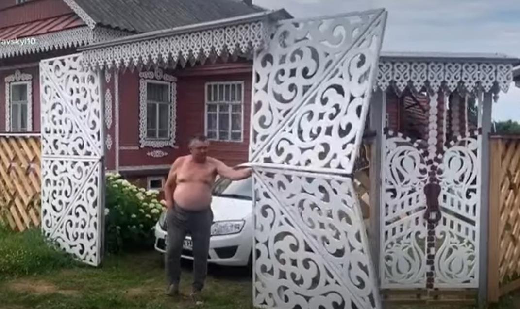 Cool Russian Transformer Gates