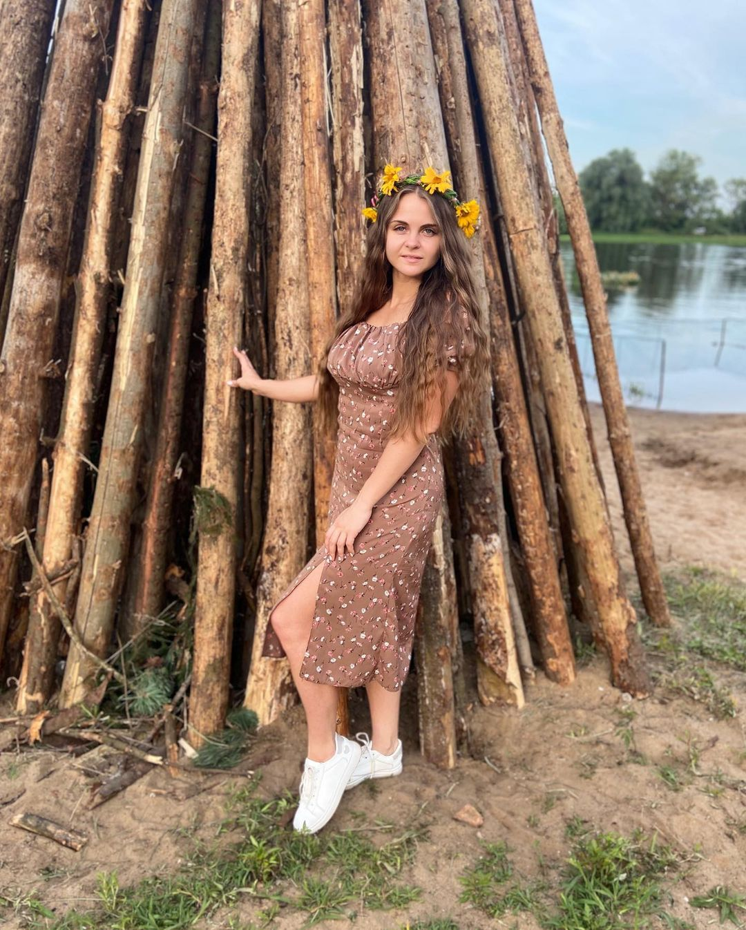 Old Beautiful Summer Holiday Celebrated In Belarus