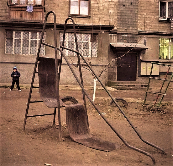 Childern First: Merry Slides From Russian Playgrounds