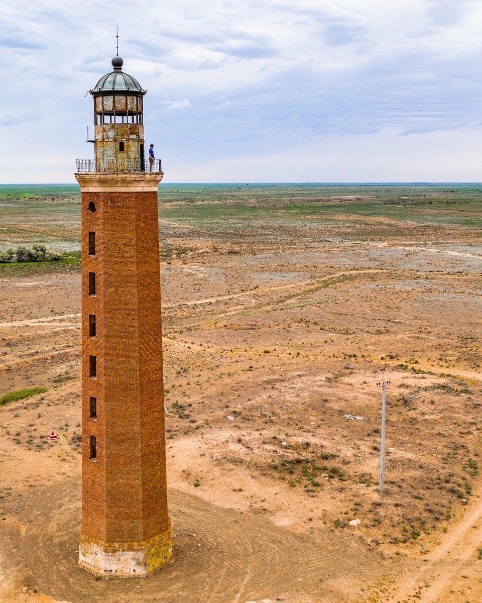 Петровский маяк в Астраханской области