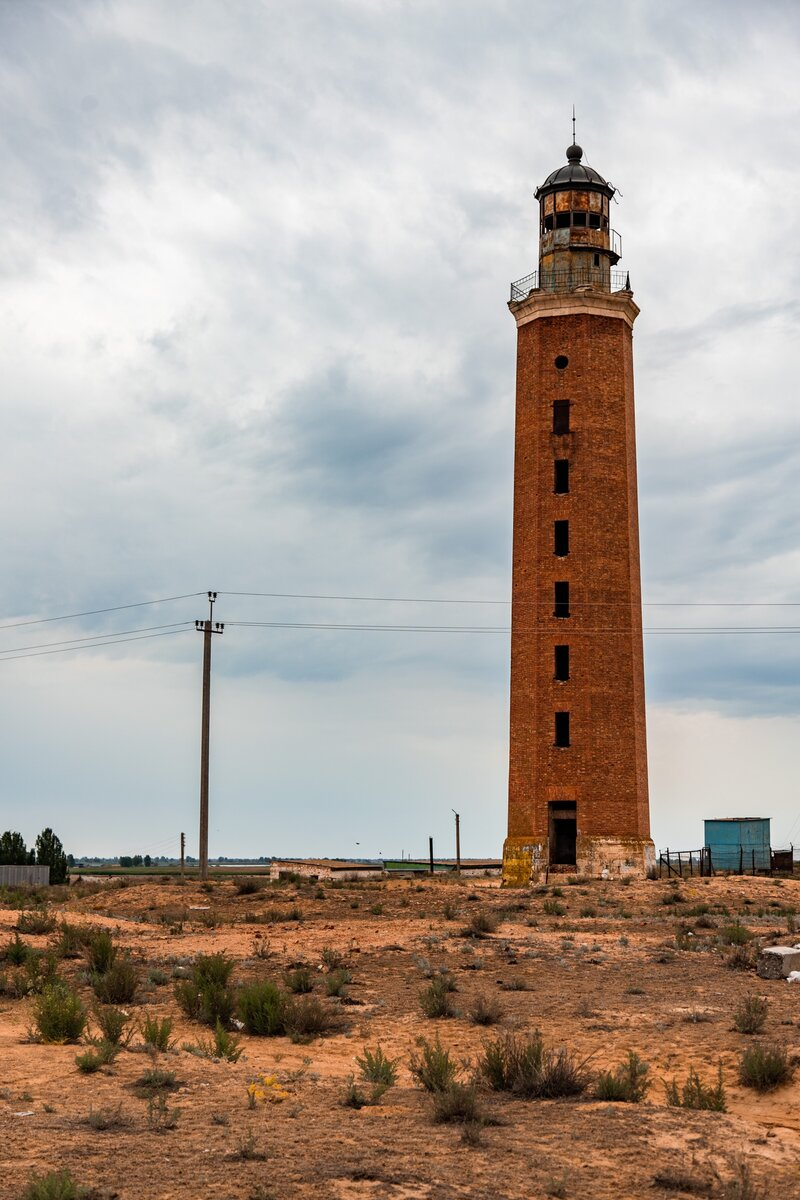 Petrovskiy Lighthouse: Abandoned Beauty