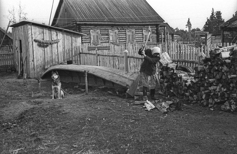 Деревня Березово. Владимир Богданов, 1974 год, Ханты-Мансийский АО, дер. Березово, МАММ/МДФ.