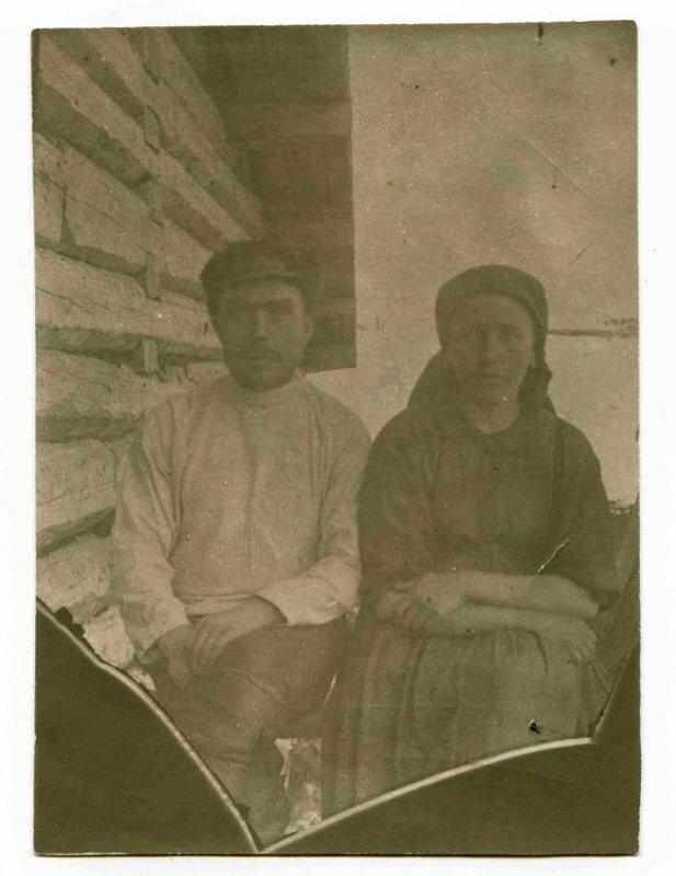 Село Усть-Цильма Архангельской губернии. Крестьяне. 1921 г. (?)