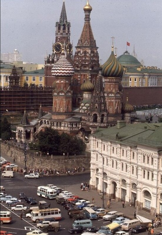 Moscow 1975: People and the City More Than 40 Years Ago