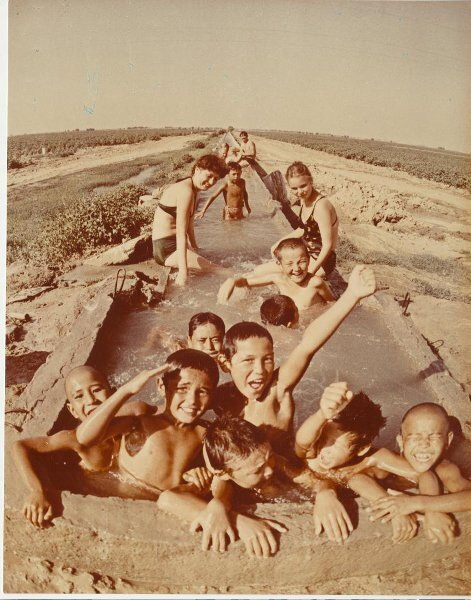 Дети Голодной степи. Эдуард Пенсон, 1985 год, МАММ/МДФ.