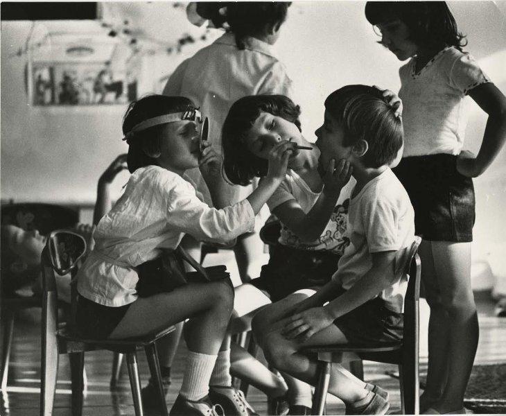 Детский сад. Георгий Розов, 1985 год, Молдавская ССР, г. Кишинев, МАММ/МДФ.