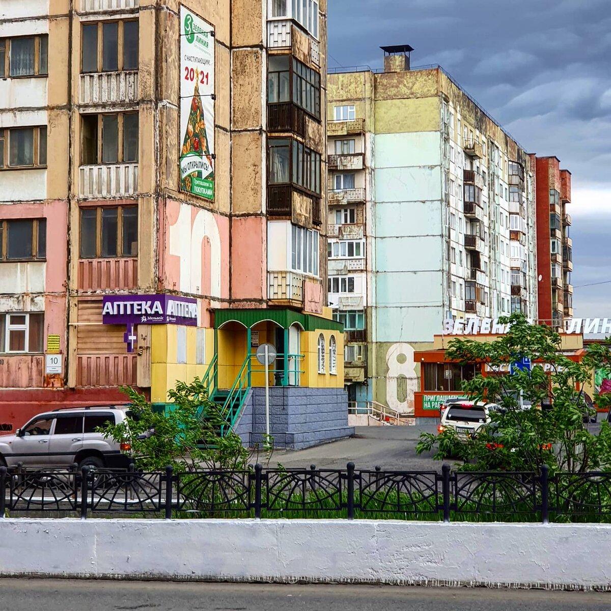 Норильск, июль 2021 г.