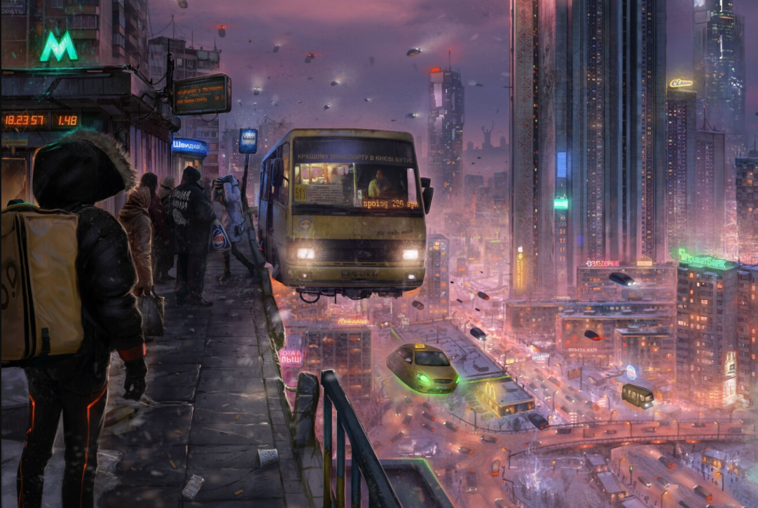 Futuristic World of Valentin Porada