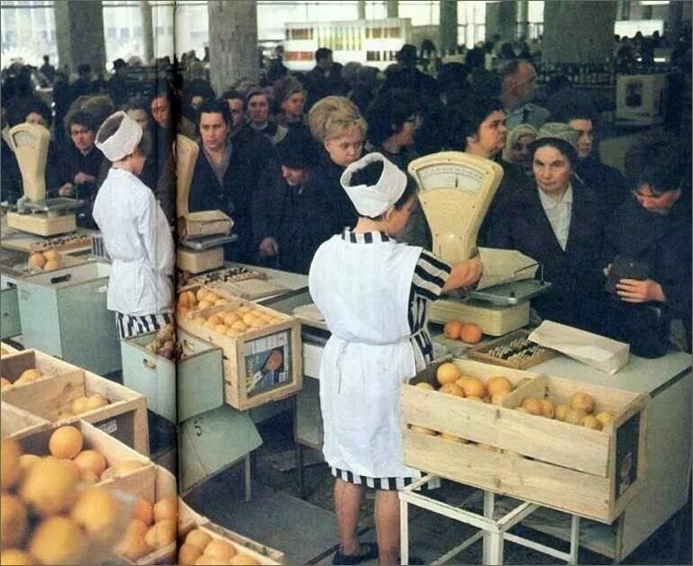 Stores in the USSR: True Photographs