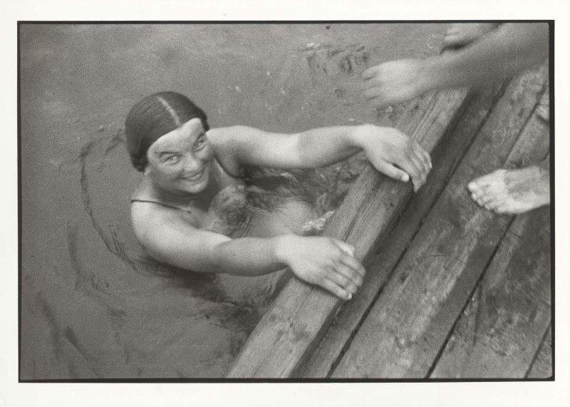 Пловчиха. Михаил Прехнер, 1933 - 1937 год, МАММ/МДФ.