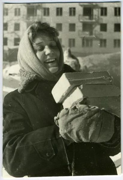 Подсобная. Михаил Клюев, 1962 год, МАММ/МДФ.