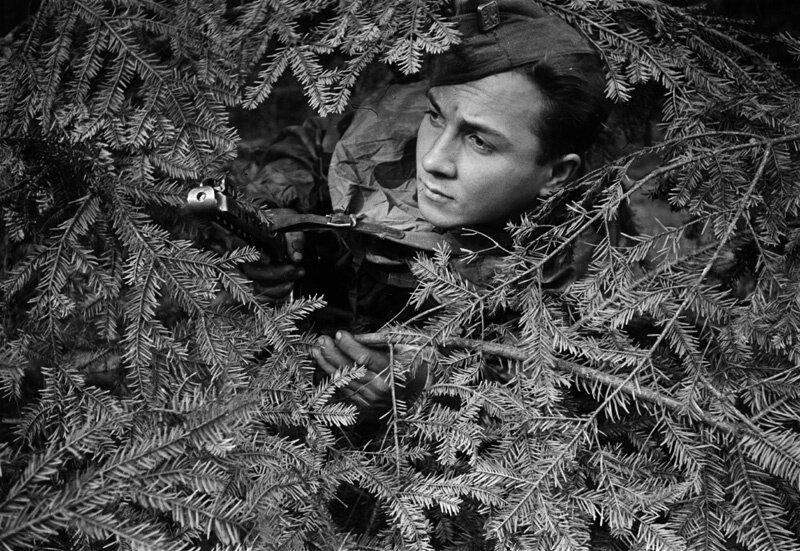 «Солдатские портреты». Аркадий Шайхет, 1941 - 1945 год, частное собрание.