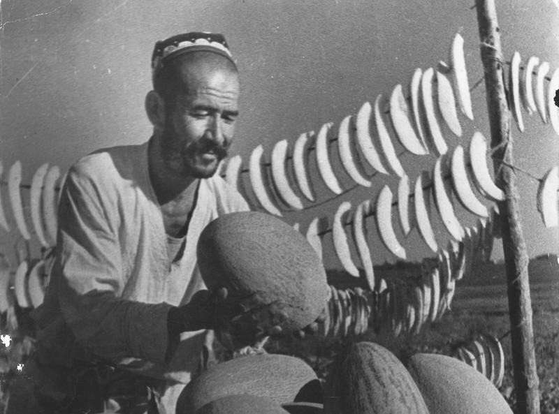 Торговец дынями. Макс Пенсон, 1930-е, Узбекская ССР, МАММ/МДФ.