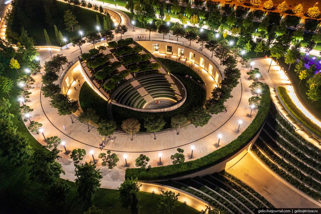 парк галицкого, парк краснодар, амфитеатр