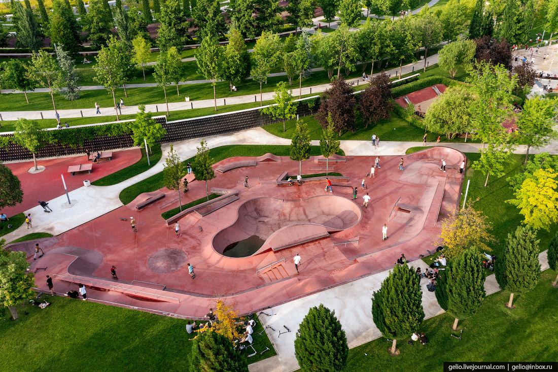 парк галицкого, парк краснодар, скейт-парк