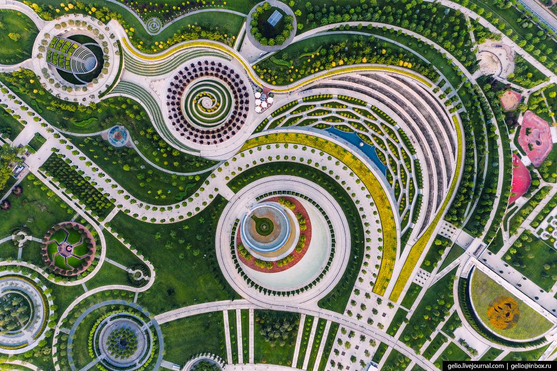 Galitsky Park In Krasnodar: Must Be the Best Park in Russia
