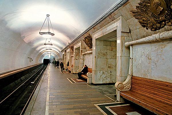 Фото №15 - 15 удивительных фрагментов московского метро