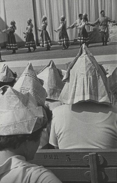 Концерт на ВДНХ. Юрий Кривоносов, 1960 год, г. Москва, МАММ/МДФ.