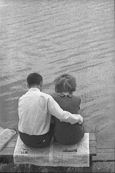 Дареный конь тихого американца. Юрий Кривоносов, 1970 год, г. Москва, МАММ/МДФ.