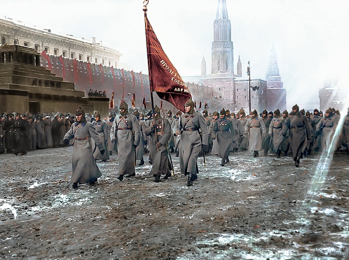 Soviet Russia After the October Revolution: Colorized Photos