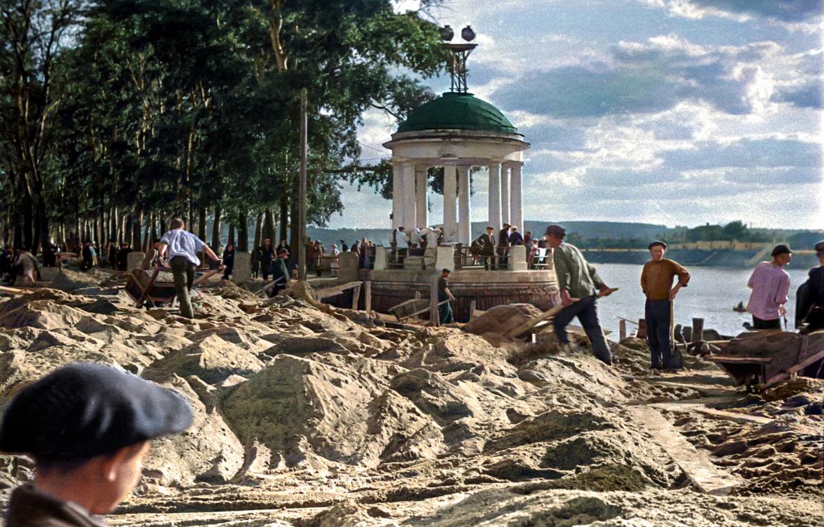 1934 г. Парк Горького.