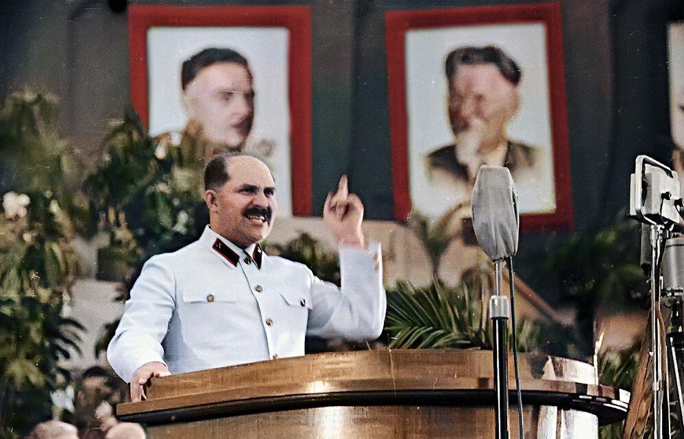 1930-е г. Выступление Кагановича Л.М.