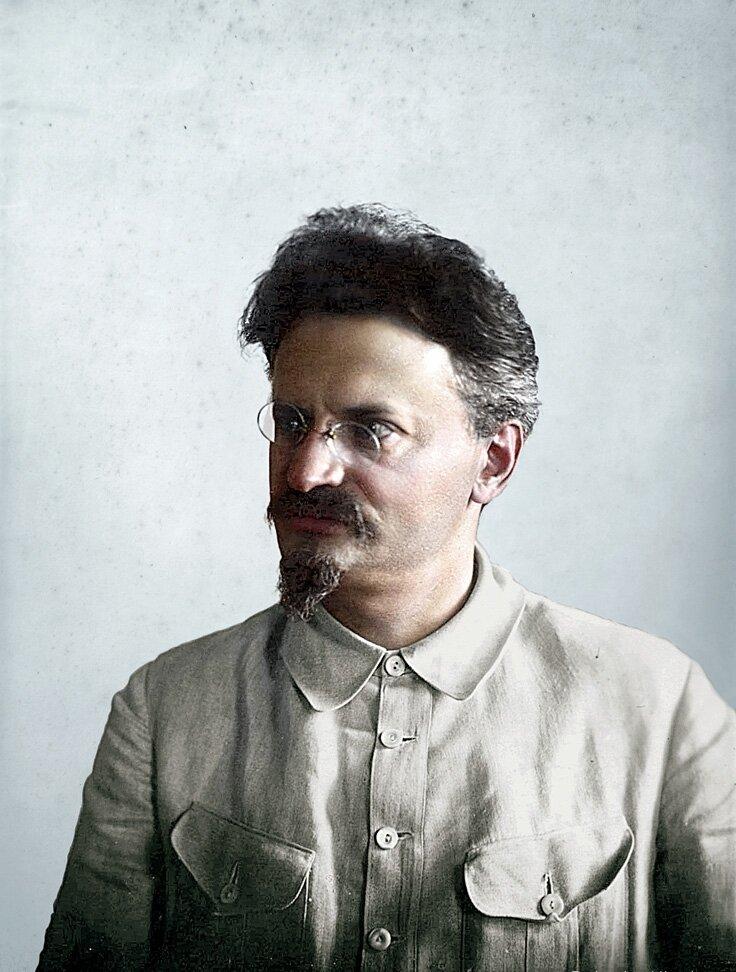 Л.Троцкий, 1920 годы..