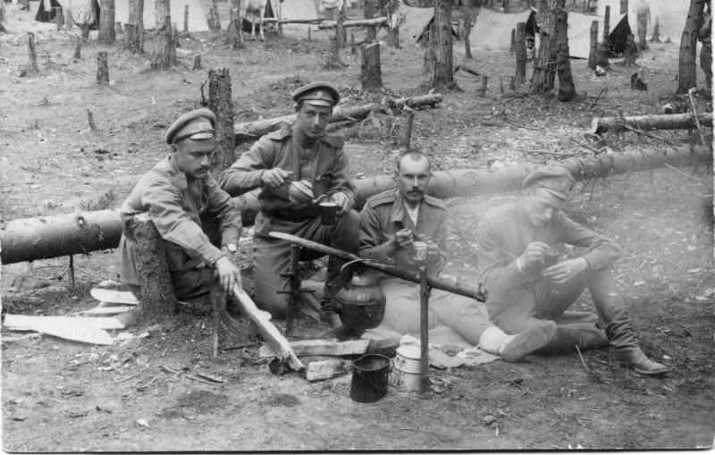 Духовщинский полк. Григорий Фрид, 1916 год, МАММ/МДФ.