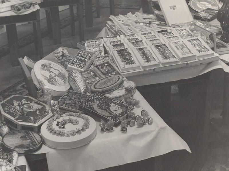 Кондитерские изделия. Неизвестный автор, 1940 - 1959 год, МАММ/МДФ.