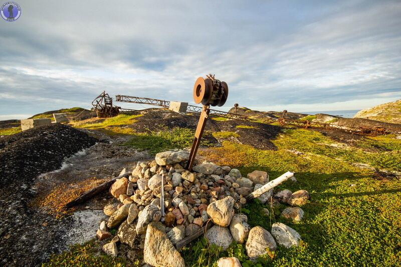 Единственная в своём роде заброшенная в Арктике береговая позиция реактивных бомбовых установок РБУ-6000