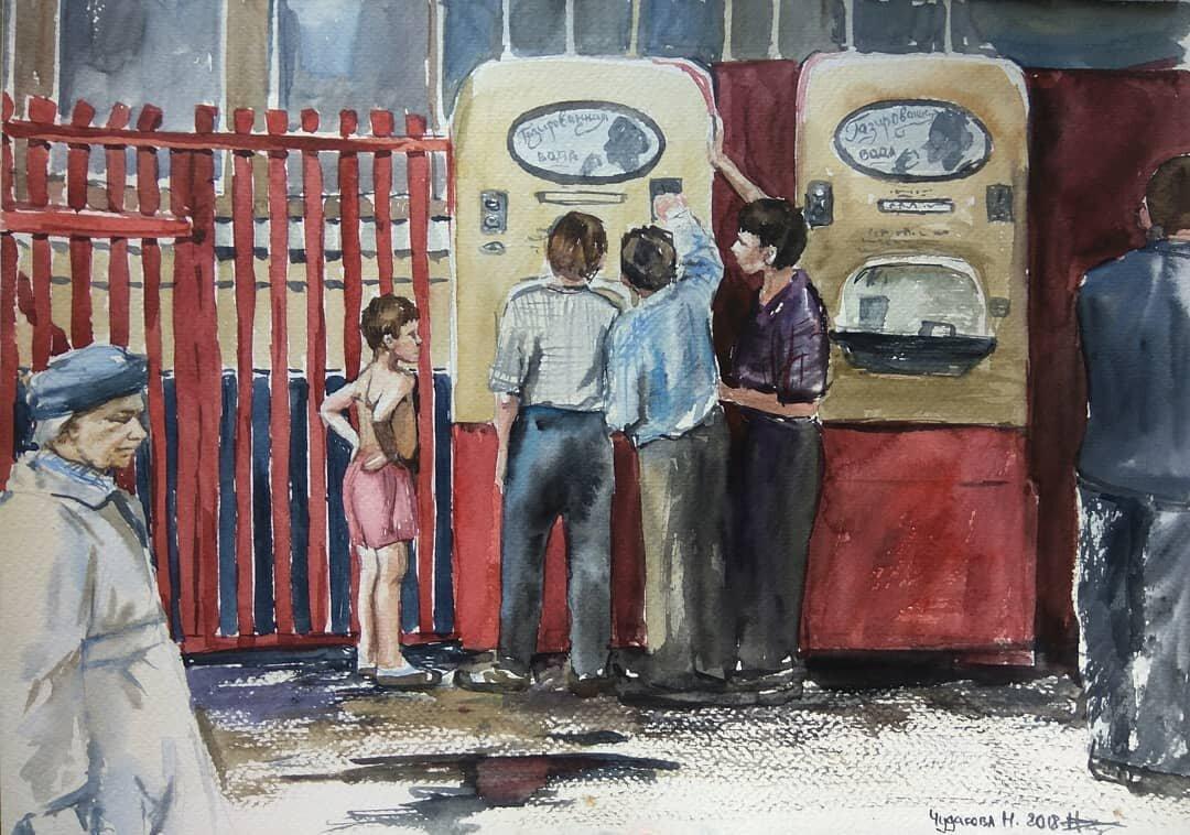 Memories of the Soviet Past in the Paintings of Nastya Chudakova