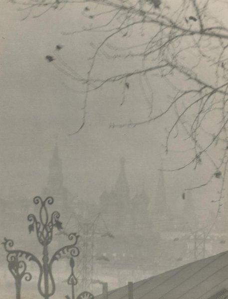 Осень в Москве. Петр Клепиков, 1928 год, г. Москва, МАММ/МДФ.