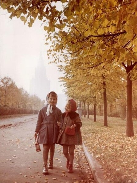 Autumn in Moscow ... Many Years Ago
